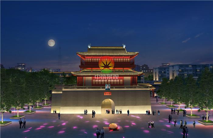 邢台市2019年城区亮化项目