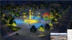 嘉和城亮化概念设计与施工工程