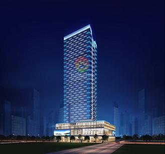 广州金融城亮化设计方案