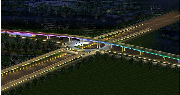 立交桥景观照明工程应该怎么做呢?